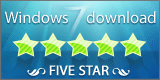 windows 7 Five Star award.